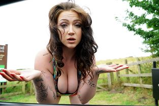 Curvy Brit Fucked Outdoors Video & Harmony Reigns - Stranded Teens