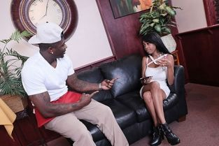 SheWillCheat - Brittney White Lonely Black hot wife cheats on husband with the waiter
