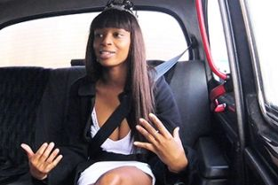 Fake Taxi - New Years Ebony is Ready to Party