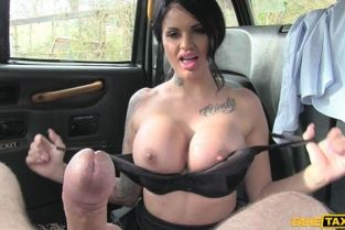 Fake Taxi - Big tits long hair and high heels