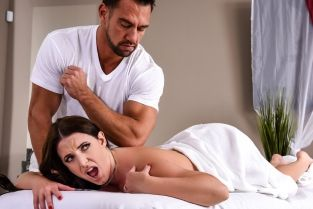 The Wrong Massage Feels So Right Johnny Castle, Angela White