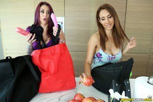 RealityKings - Isis Love, Monique Alexander Grocery Store Adventures WeLiveTogether