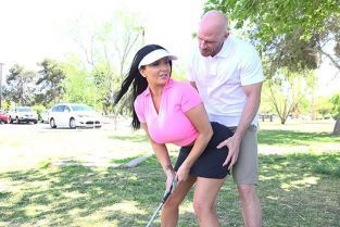 BangConfessions - Romi Rain Gets A Lesson In Golf And Getting Rammed By Fat Cock