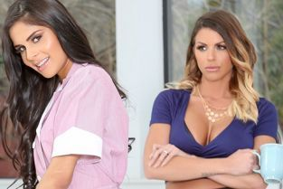 Confessions - Brooklyn Chase, Katya Rodriguez Extra Maid Duties Are Cumming