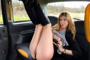 Fake Taxi - Brunette takes deep anal cock