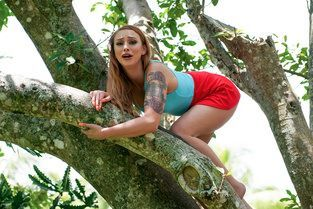 Girl On Treetop Xeena Mae - Stranded Teens