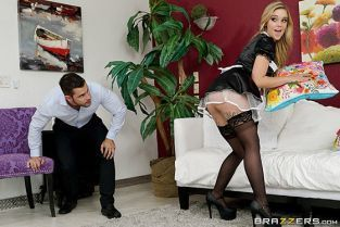 Kali Roses Cleaning His Cock BrazzersExxtra