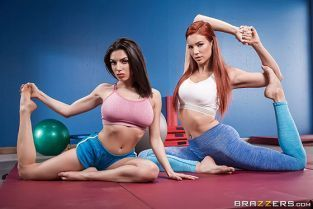 Jayden Cole, Darcie Dolce Pilates For Hotties HotAndMean