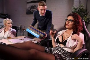 Amina Danger Wild Women At Work BigTitsAtWork