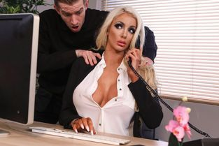 Nicolette Shea Massaged On The Job DirtyMasseur