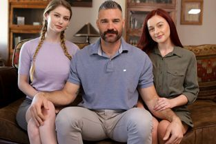 Nubiles-Porn - Bunny Colby, Danni Rivers My Sister Wives What It Takes