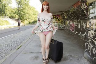 PublicAgent - Alex Harper Dirty hot American redhead beauty