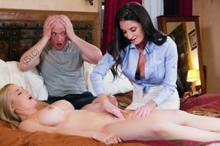 FantasyMassage - Sarah Vandella, Silvia Saige Parent Teacher Tag-Team
