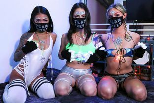 BFFS - Paisley Paige, Melody Foxx, Winter Bell Quarantine And Rave With Me