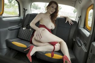 FakeTaxi - Isabella Lui The Redhead in the Red Dress