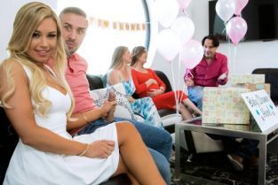Keiran Lee, Kendall Kayden Busted At The Babyshower [Best of Brazzers]