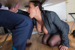 Mea Melone, Freddy Flavas Under The Table Deal [Best of Brazzers]