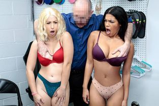 Shoplyfter - Maya Farrell, Goldie Glock Just Do Everything I Say