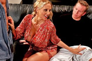 John Strong, Julia Ann, Mark Wood Welcoming Your Cock To The Building [Best of Brazzers]