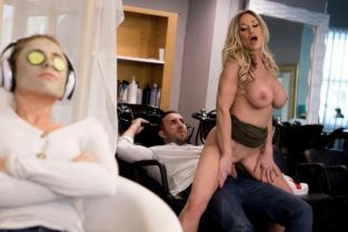 Keiran Lee, Tyler Faith Sneaking In A Last Minute Facial [Best of Brazzers]