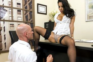 Johnny Sins, Asa Akira Boning my Boss [Best of Brazzers]