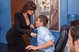 Xander Corvus, Syren De Mer Red Hot Boss From Hell [Best of Brazzers]