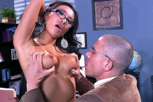 Mick Blue, Asa Akira Blowing Dr. Blue [Best of Brazzers]