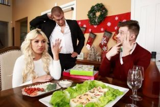 Xander Corvus, Carmen Caliente Horny For The Holidays: Part 2 [Best of Brazzers]