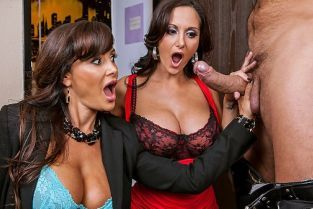 Ramon Nomar, Ava Addams, Lisa Ann Busted [Best of Brazzers]