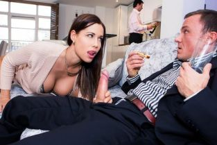 Satin Bloom, Cage My Horrible Boss' Wife [Best of Brazzers]
