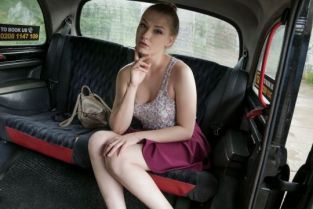 FakeTaxi - Lucy Heart Hot Russian Tries English Sausage
