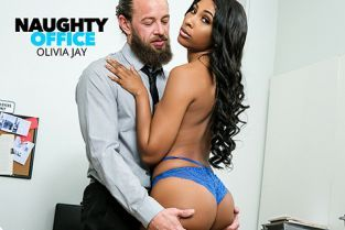 NaughtyAmerica - Olivia Jayy Olivia Jay fucks her way out of trouble in the Office NaughtyOffice