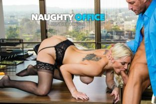 NaughtyAmerica - Kenzie Taylor Kenzie Taylor fucks her boss for that promotion NaughtyOffice