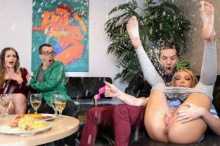 Tiffany Watson Dinner Party Drenching BrazzersExxtra