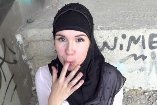 SexWithMuslims - Izzy Dark Outdoor quickie with muslim wife
