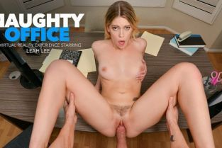 NaughtyAmerica - Leah Lee Leah Lee needs a good spank for going through your files at work NaughtyOffice