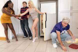 Osa Lovely, Lilly Bell MILF's Got Good Threeway Game BrazzersExxtra