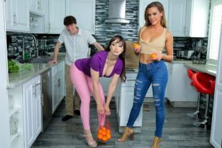MomsTeachSex - Aila Donovan, Lexi Luna I Will Not Look At My Stepmoms Tits – S15:E10
